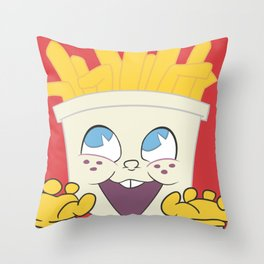 Frybo Throw Pillow