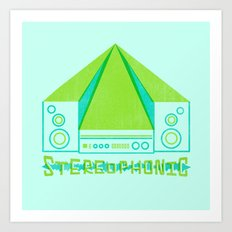 stereophonic Art Print