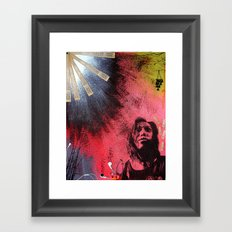 The Darkness & Beauty Framed Art Print