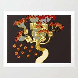TREE OF PROSPERITY Art Print