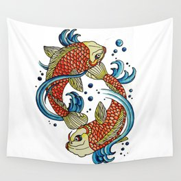 Peaces Wall Tapestry