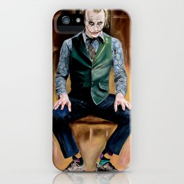 Joker Time iPhone Case