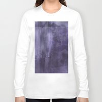 psychology Long Sleeve T-shirts featuring Ecphory by Art by Mel