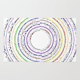 Genome Circles 3 Rug