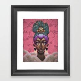 Circlet Framed Art Print