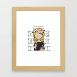 Be Thou My Vision Framed Art Print