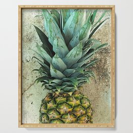Pineapple Portrait Serving Tray