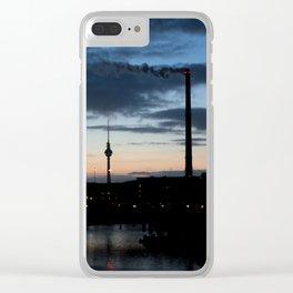 Unterwegs... Clear iPhone Case