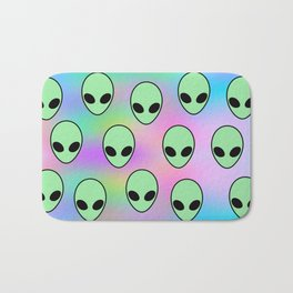 Aliens Bath Mat