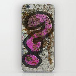 Do you want to dance with me? iPhone Skin