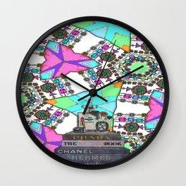 Beauty Bling and Fashion Remix Wall Clock