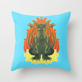 Slattern Tattoo design Throw Pillow