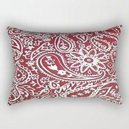 Americana Bandana Design Rectangular Pillow
