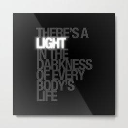 There's A Light! - the RHPS Metal Print