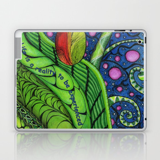 Cosmic Beanstalk Laptop & iPad Skin