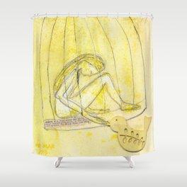 Satie Gymnopédie 1 lent et douloureux Shower Curtain