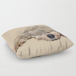Labradoodle Floor Pillow