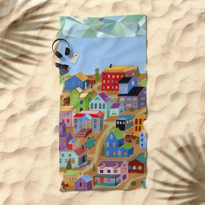 Tigertown Beach Towel