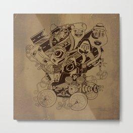 Monster RoadTrip! Metal Print