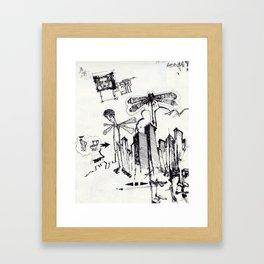 EXIT SERIES 2 Framed Art Print