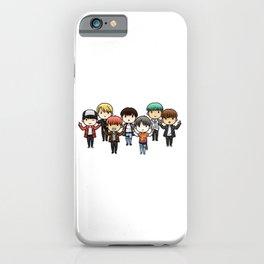 All bts chibi iPhone Case