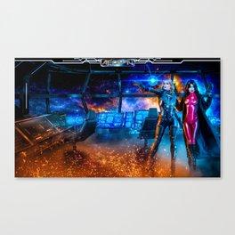Destiny Lost - Tanis and Sera Canvas Print