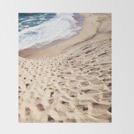 African Dune Beach Throw Blanket