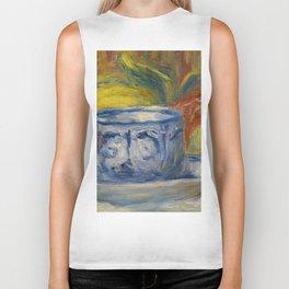 "Auguste Renoir ""Tasse et fruits (Cup and fruits)"" Biker Tank"