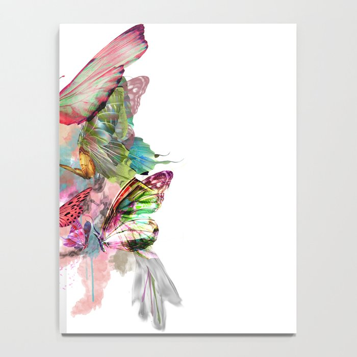 Butterfly Pattern Notebook