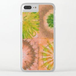 Murdering Nature Flowers  ID:16165-102100-72860 Clear iPhone Case