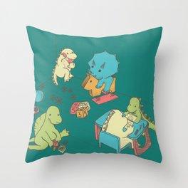 Kinder Throw Pillow