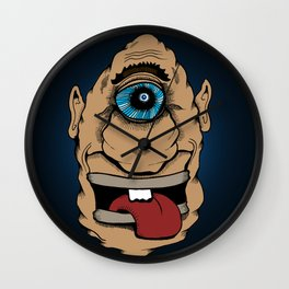 One eye sees all Wall Clock