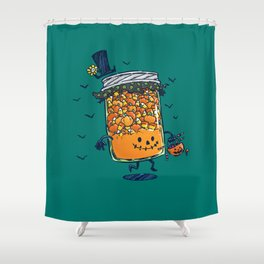 Halloween Jam Shower Curtain