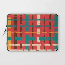 Colorful line segments Laptop Sleeve