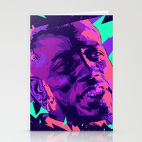 wesley bird Stationery Cards featuring Wesley snipes // Bad actors v2 by mergedvisible