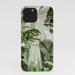 There's A Ghost in the Greenhouse Again iPhone Case