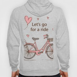 Cartoon Bike Hoody