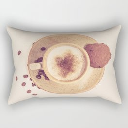 Vintage Coffee Love Photography Rectangular Pillow