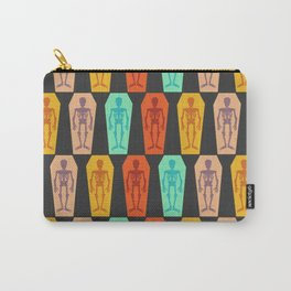Colorful skeletons Carry-All Pouch