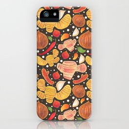 Indonesia Spices iPhone Case