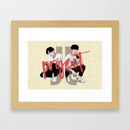 JJ Project 3D Framed Art Print