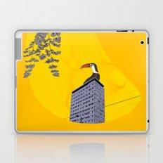 break the silence Laptop & iPad Skin