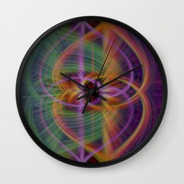 color torquent Wall Clock