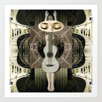 bride Art Prints featuring Bride by Ira Carter