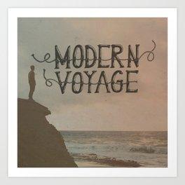 Modern Voyage Art Print
