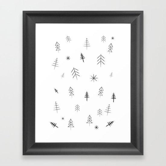 O Christmas tree[s] Framed Art Print