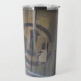 Vintage Wooden Wabi-Sabi Japanese Shipping Crates Travel Mug