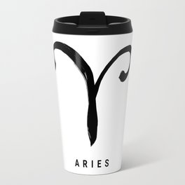 KIROVAIR ASTROLOGICAL SIGNS ARIES #astrology #kirovair #symbol #minimalism #home #decor Travel Mug