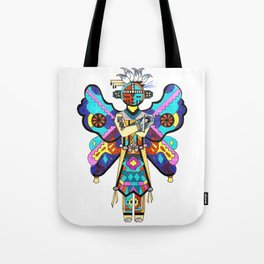 Kachina Butterfly 5 Tote Bag