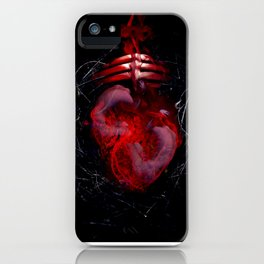 Orbital Hearts iPhone Case